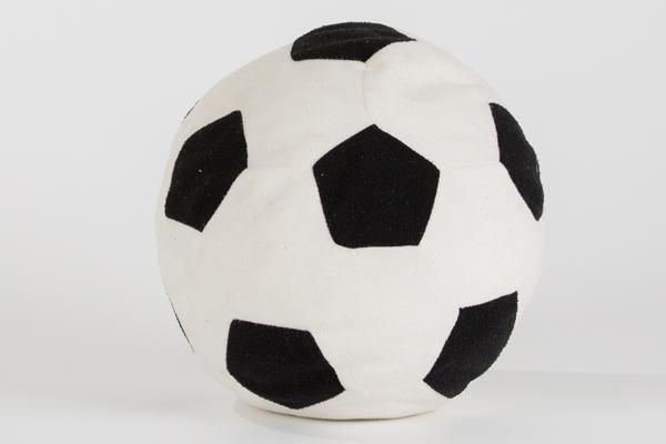 サッカーボールクッション