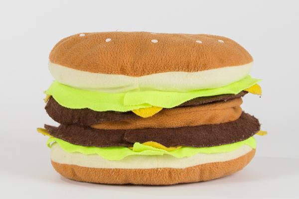 ハンバーガークッション