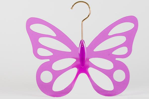 蝶のハンガー