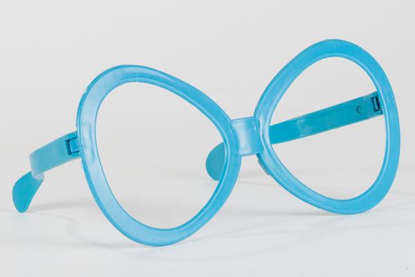 大きなメガネ